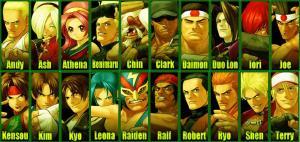20 personajes a escoger, mas dos secretos
