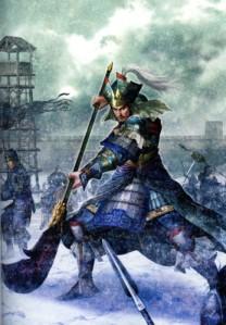 Zhang Liao guerrero de WEI...