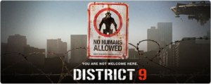 District 9 movie image - logo