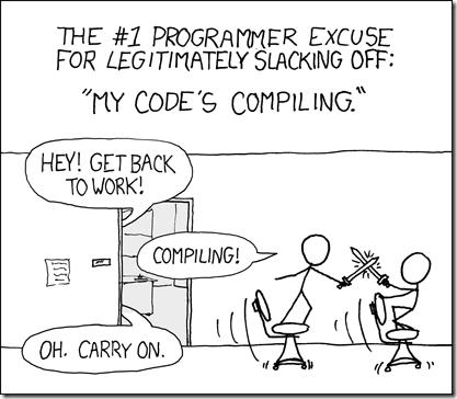 xkcdCompiling